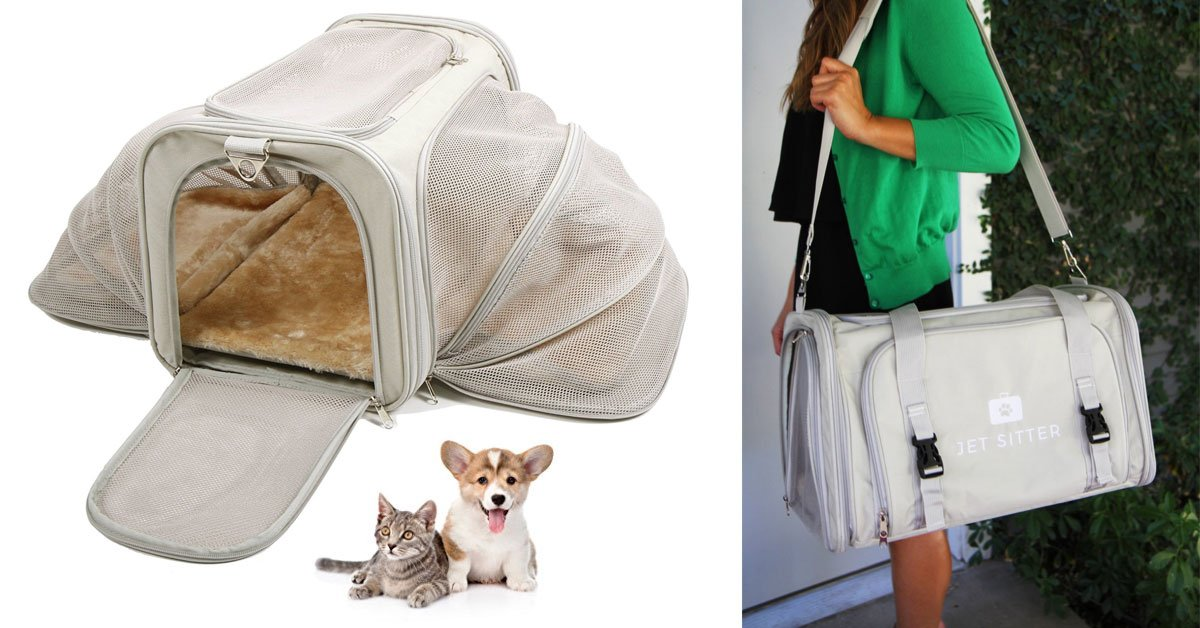 A Luxury Soft-Sided Pet Carrier For Your Pets