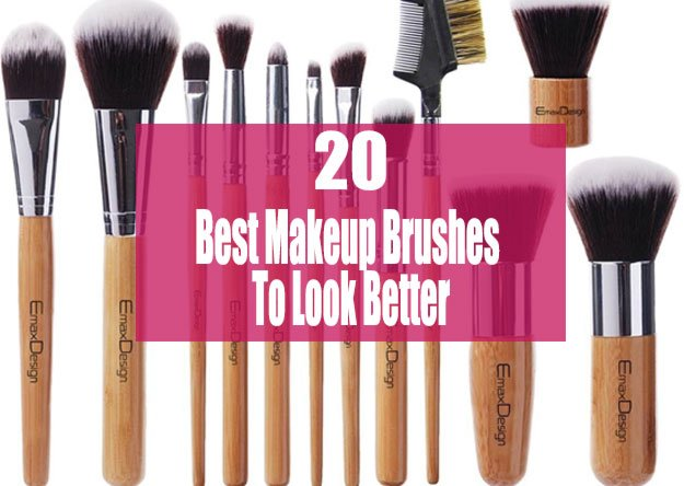 A List Of Best Makeup Brushes That Will Help You To Look Better