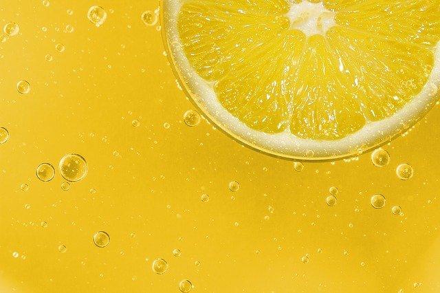 Lemon Lemonade Fruit Sour Yellow Slice Of Lemon