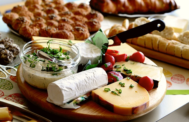 Cheese Cheese Platter Party Buffet Food Meal