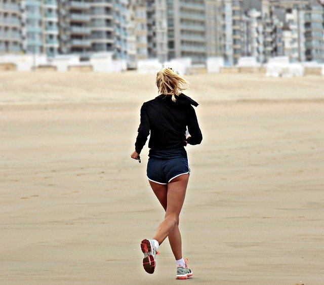 Jogger Jog Lifestyle Sports Leisure Time Work Out