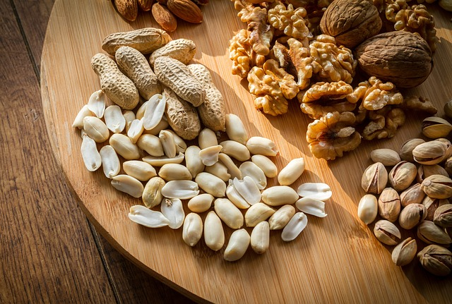 Mixed Nuts Selection Brown Shell Food Tasty